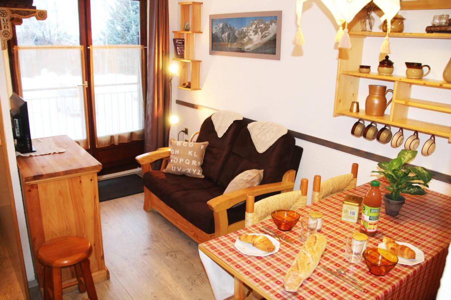 Location au ski Studio cabine 4 personnes (16) - Résidence l'Aiglon - Serre Chevalier - Séjour