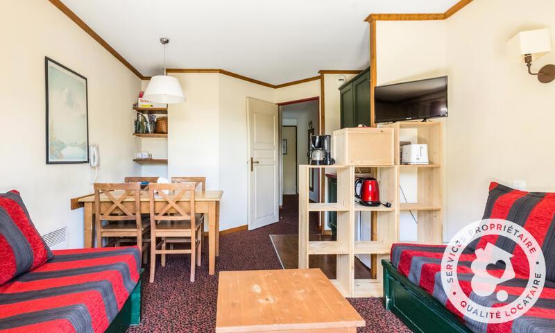Vacances en montagne Studio 4 personnes (Confort 30m²) - Résidence l'Alpaga - Maeva Home - Serre Chevalier - Extérieur hiver