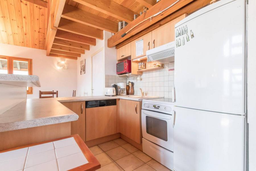 Ski verhuur Appartement 4 kamers mezzanine 12 personen - Résidence la Clé des Champs - Serre Chevalier - Keuken