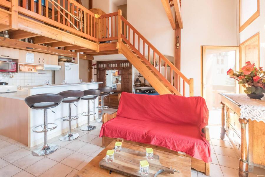 Ski verhuur Appartement 4 kamers mezzanine 12 personen - Résidence la Clé des Champs - Serre Chevalier - Zitbank
