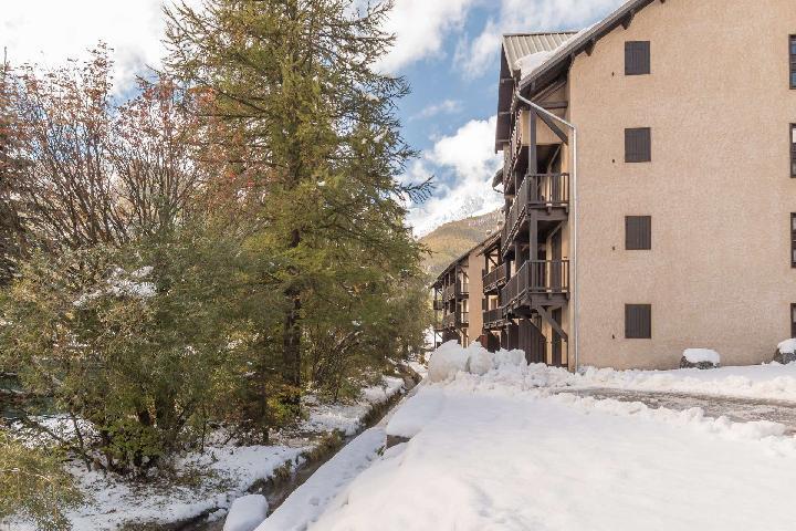 Soggiorno sugli sci Résidence la Gardiole - Serre Chevalier - Esteriore inverno