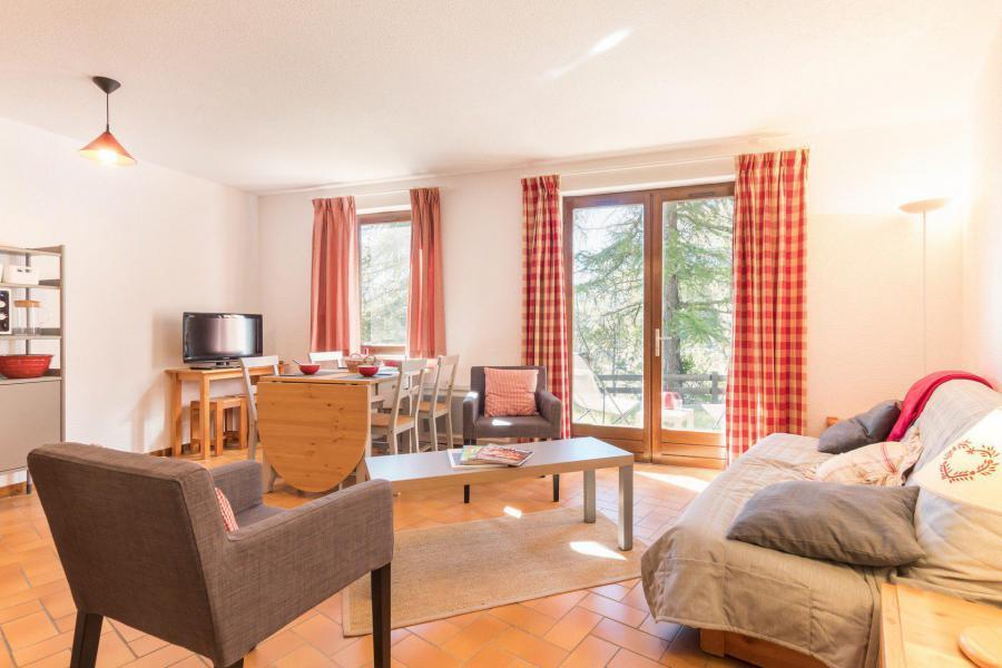 Soggiorno sugli sci Appartamento 2 stanze con cabina per 6 persone (QUE403) - Résidence la Gardiole - Serre Chevalier - Soggiorno