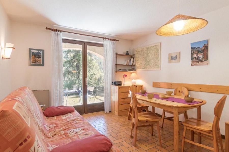 Ski verhuur Appartement 2 kamers bergnis 5 personen (305) - Résidence la Gardiole - Serre Chevalier - Woonkamer