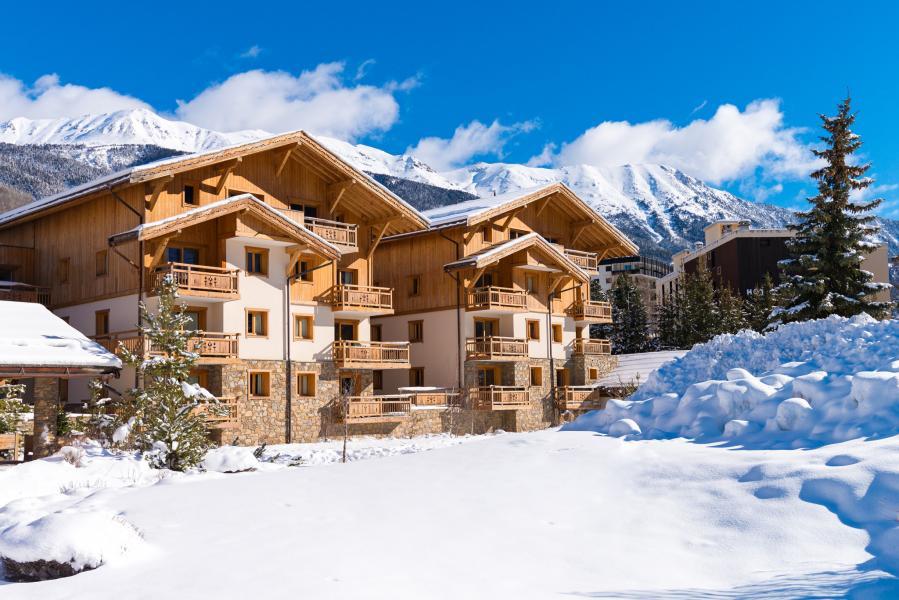 Alquiler al esquí Résidence Lagrange le Hameau du Rocher Blanc - Serre Chevalier - Invierno
