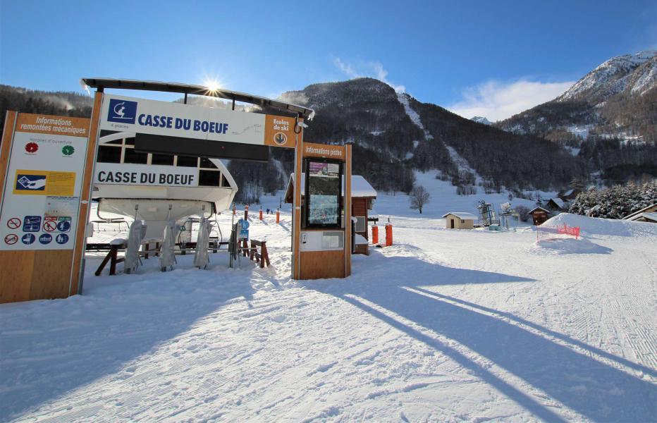 Ski verhuur Studio 4 personen (014) - Résidence le Galibier - Serre Chevalier