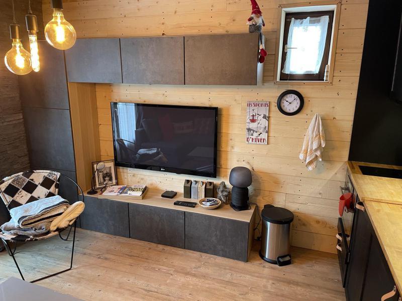 Location au ski Studio cabine 4 personnes (01) - Résidence les Neyzets - Serre Chevalier - Banquette-lit tiroir