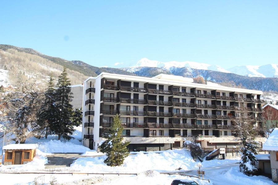 Vacances en montagne Appartement 2 pièces 6 personnes (406) - Résidence les Nivéoles - Serre Chevalier - Extérieur hiver