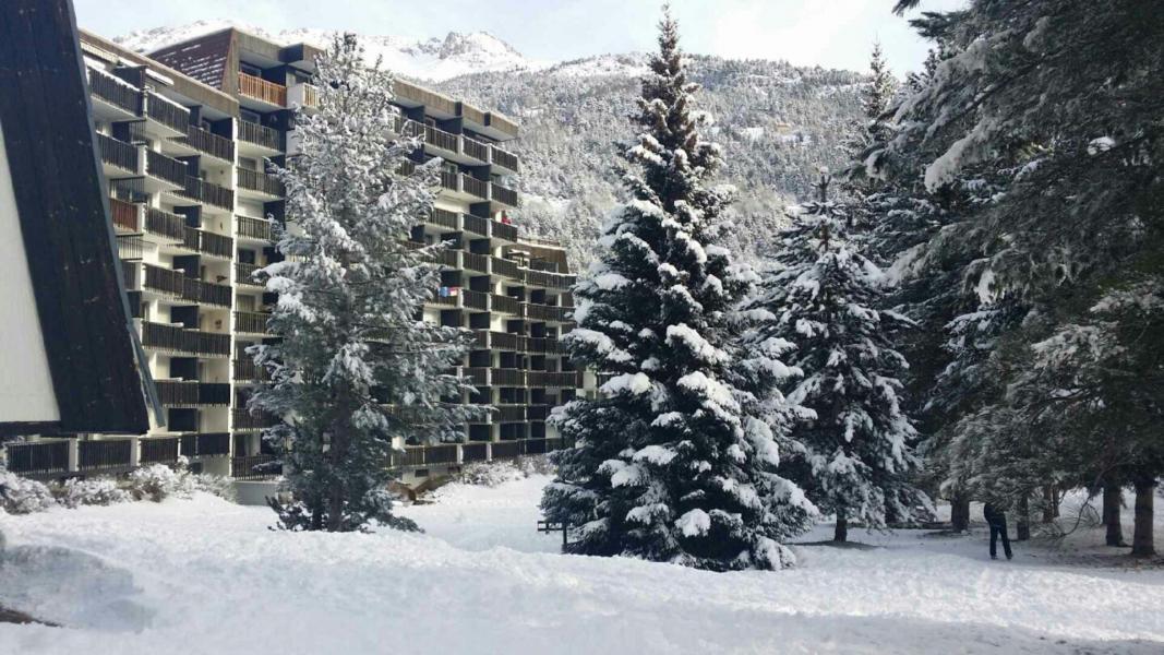 Soggiorno sugli sci Résidence Plaine Alpe - Serre Chevalier - Esteriore inverno