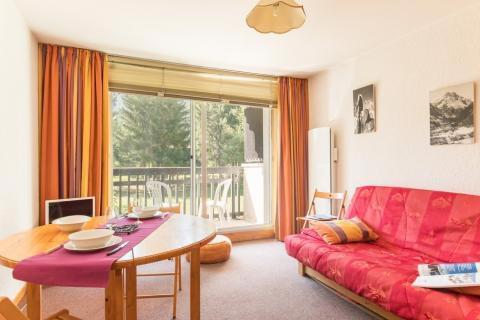 Location au ski Studio coin montagne 4 personnes (005) - Résidence Plaine Alpe - Serre Chevalier - Canapé