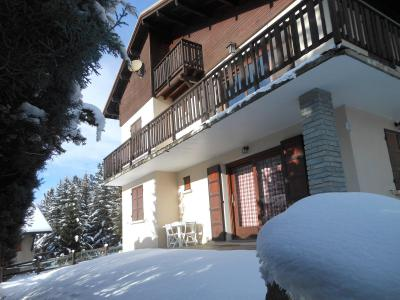 Vacances en montagne Appartement 3 pièces 8 personnes (2800) - Chalet Bambi Laroche - Serre Chevalier - Extérieur hiver