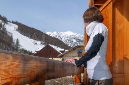 Location au ski Chalet l'Eterlou - Serre Chevalier - Extérieur hiver