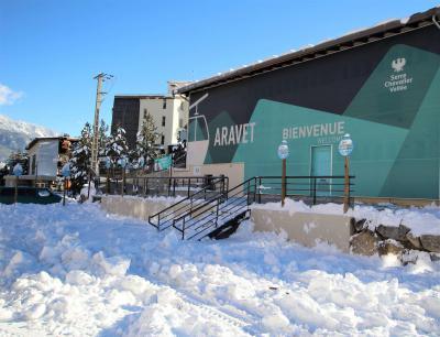 Rent in ski resort Studio sleeping corner 4 people (ECLEL) - La Résidence les Ecrins - Serre Chevalier