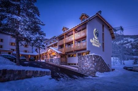 Location au ski Le Grand Aigle Hotel Et Spa - Serre Chevalier - Extérieur hiver