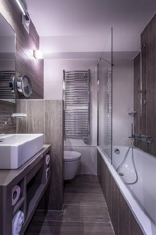 Location au ski Le Grand Aigle Hotel Et Spa - Serre Chevalier - Salle de bains