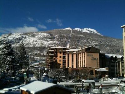 Location au ski Le Parc Hotel - Serre Chevalier - Extérieur hiver