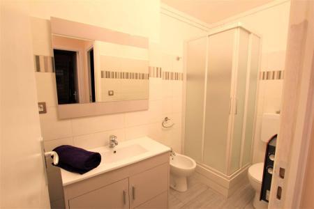 Location au ski Appartement 2 pièces cabine 5 personnes (A306) - Résidence Central Parc 1a - Serre Chevalier - Douche