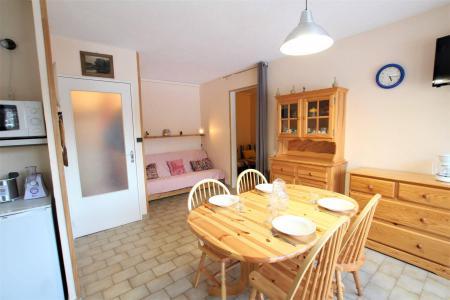 Location au ski Appartement 2 pièces cabine 5 personnes (A306) - Résidence Central Parc 1a - Serre Chevalier - Table