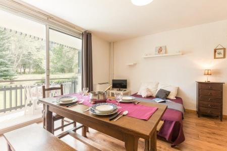 Location au ski Studio 4 personnes (34) - Residence Concorde - Serre Chevalier - Séjour
