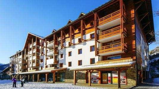 Vacances en montagne Résidence l'Aigle Bleu - Serre Chevalier - Extérieur hiver