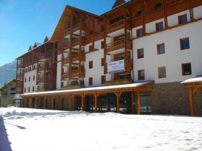 Location au ski Residence L'aigle Bleu - Serre Chevalier - Extérieur hiver