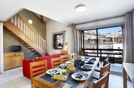 Location au ski Résidence l'Aigle Bleu - Serre Chevalier - Salle à manger