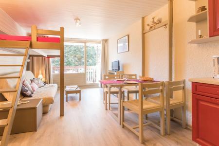 Location au ski Studio coin montagne 4 personnes (108) - Residence L'izoard - Serre Chevalier - Lit mezzanine double