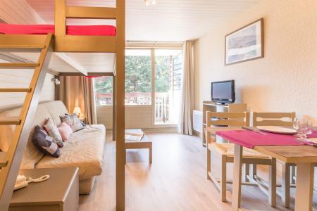 Location au ski Studio coin montagne 4 personnes (108) - Residence L'izoard - Serre Chevalier - Séjour
