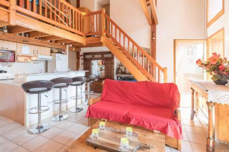 Location au ski Appartement 4 pièces mezzanine 12 personnes - Résidence la Clé des Champs - Serre Chevalier - Banquette