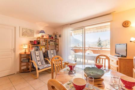 Rent in ski resort 3 room apartment sleeping corner 6 people (HED01) - Résidence la Tourmaline - Serre Chevalier - Living room