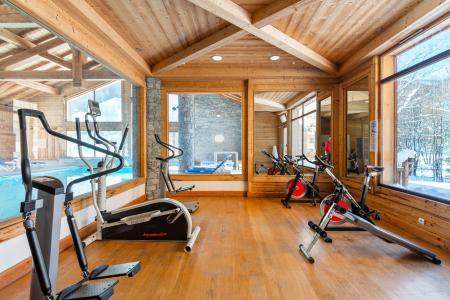 Location au ski Résidence Lagrange le Hameau du Rocher Blanc - Serre Chevalier - Espace fitness