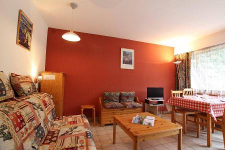 Rent in ski resort Studio sleeping corner 4 people (B014) - Résidence le Clos des Cavales 2 - Serre Chevalier - Living room