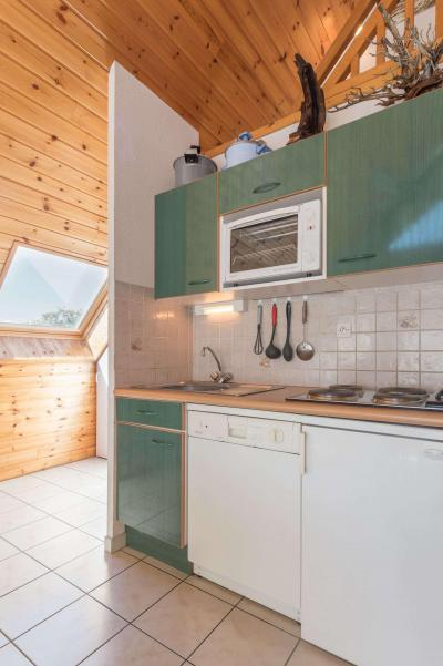 Rent in ski resort 3 room duplex apartment 6 people (BLIN25) - Résidence Le Dauphinois - Serre Chevalier - Kitchenette