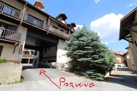 Rent in ski resort Studio cabin 4 people (L302) - Résidence le Lys Orangé - Serre Chevalier