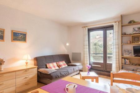 Rent in ski resort Studio cabin 4 people (L302) - Résidence le Lys Orangé - Serre Chevalier - Living room