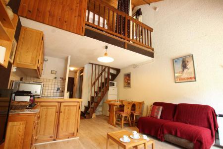 Location au ski Studio mezzanine 6 personnes (12B) - Résidence le Prarial - Serre Chevalier - Extérieur hiver