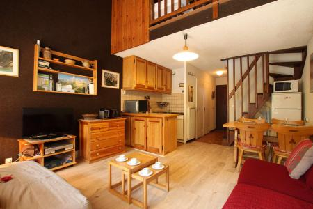 Location au ski Studio mezzanine 6 personnes (12B) - Résidence le Prarial - Serre Chevalier - Séjour