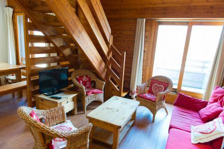 Rent in ski resort 4 room apartment 8 people (003) - Résidence les Balcons de Briançon A - Serre Chevalier