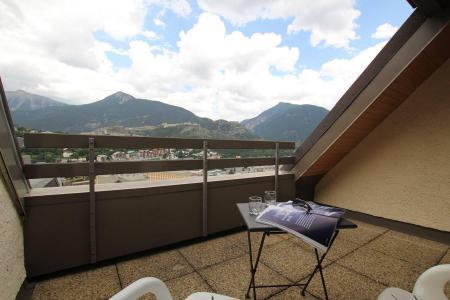 Rent in ski resort 2 room duplex apartment 4 people (B314) - Résidence les Balcons de Briançon B - Serre Chevalier - Balcony