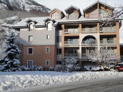 Location au ski Residence Les Jardins Alpins - Serre Chevalier - Extérieur hiver