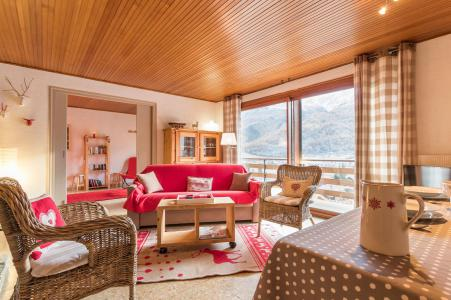 Rent in ski resort 3 room apartment 6 people (LEC015) - Résidence les Pellenches - Serre Chevalier - Living room