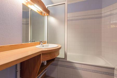 Location au ski Studio 4 personnes (307) - Residence Pre Du Moulin F - Serre Chevalier - Salle de bains