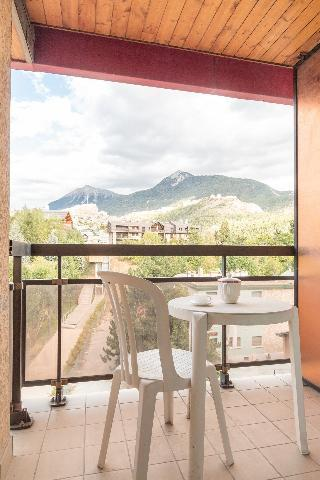 Location au ski Studio coin montagne 6 personnes (412) - Résidence Relais Guisane B - Serre Chevalier
