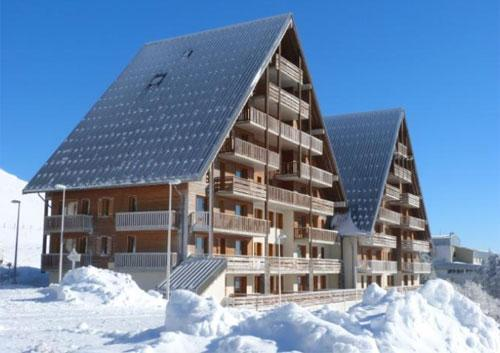 Location au ski Residence O Sancy By Residandco - Super Besse - Extérieur hiver