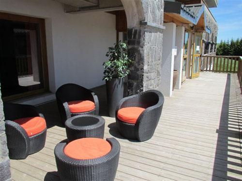 Location au ski Residence O Sancy By Residandco - Super Besse - Terrasse