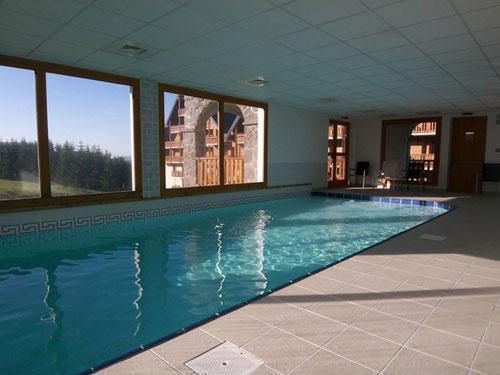 Location au ski Residence O Sancy By Residandco - Super Besse - Piscine