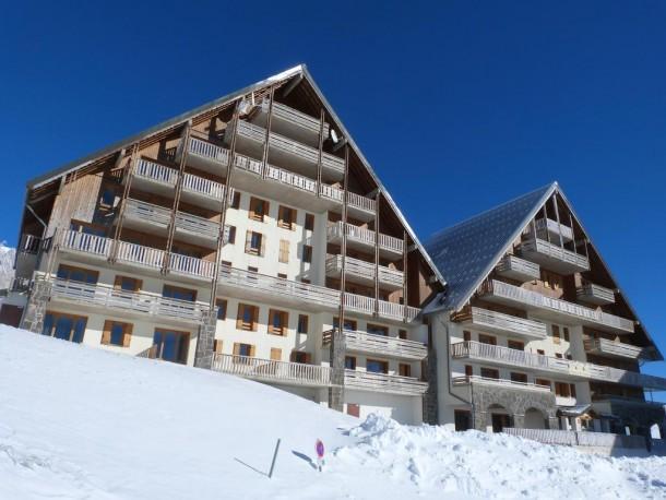 Location au ski Résidence les Matins du Sancy - Super Besse - Extérieur hiver