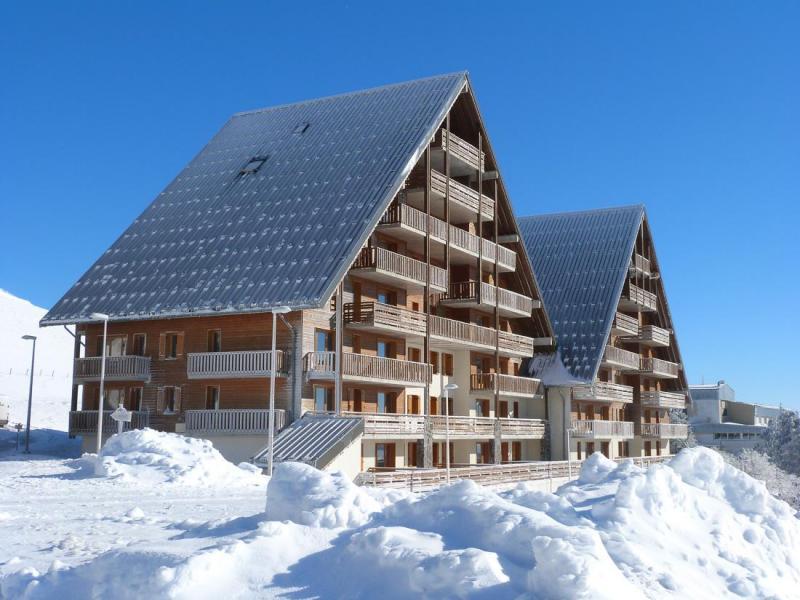Location au ski Résidence O Sancy By Résidandco - Super Besse - Extérieur hiver