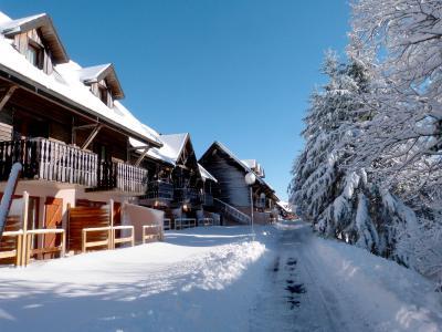 Location au ski Résidence le Bois de la Reine - Super Besse - Extérieur hiver