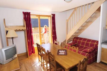 Location au ski Appartement duplex 3 pièces cabine 6-8 personnes - Residence Le Bois De La Reine - Super Besse - Séjour