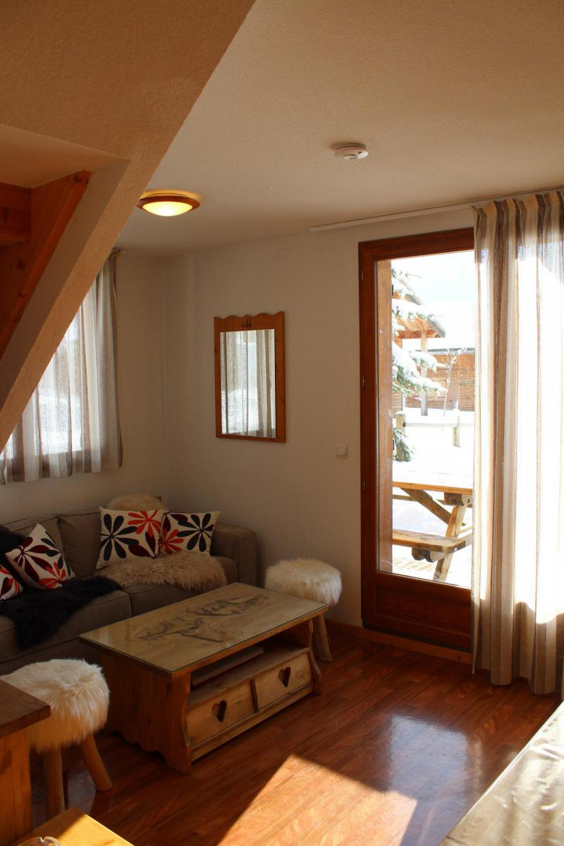 Alquiler al esquí Chalet adosado duplex 3 piezas para 8 personas (N2) - Le Hameau du Puy - Superdévoluy
